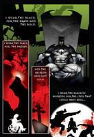 batman in black pg3 by artist Tom Kelly by TomKellyART