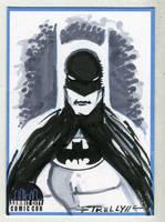 Batman gray by TomKellyART