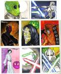 starwars cards 2011 3C by TomKellyART