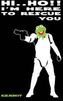 Kermit the trooper by artist Tom Kelly by TomKellyART