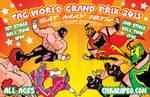 Chikara Pro World Tag 2013 by Tom Kelly by TomKellyART