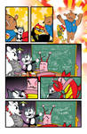 Aw Yeah Crisis of calories pg2 by Tom Kelly by TomKellyART