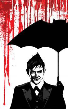 Penguin Gotham Needs Me by artist Tom Kelly by TomKellyART