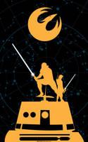 Starwars Rebels New Knights by artist TOM KELLY by TomKellyART