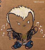 Riot fest 2015 Billy Idol by Artist Tom kelly by TomKellyART