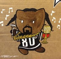 Riot fest 2015 snoop dogg kitty by Tom kelly by TomKellyART