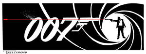 Bond Line Of Sight by artist Tom Kelly by TomKellyART