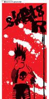 Sk8er Die by artist Tom Kelly by TomKellyART