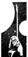 80s Ms Marvel by artist Tom Kelly by TomKellyART