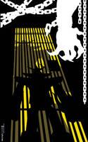 Kaijumax Caged Kaiju Heat by artist Tom kelly by TomKellyART