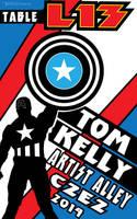 Cap_promo_c2e2 2016 Tom Kelly by TomKellyART