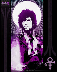 Prince and The Digital Revolution by Tom kelly by TomKellyART