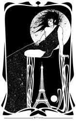 A Dream of Paris by Tom Kelly by TomKellyART