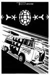 TMNTober Turtle Van by Tom Kelly by TomKellyART