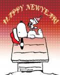 Snoopy by Tom Kelly by TomKellyART