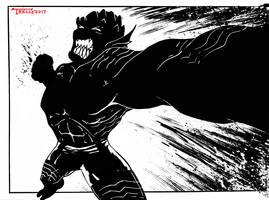 Abomination Gamma Beast by Tom Kelly by TomKellyART