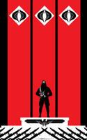 Cobra Commander Hail Cobra by Tom Kelly by TomKellyART