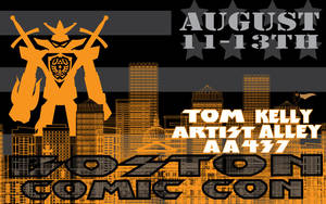Boston Comic Con and Tom Kelly by TomKellyART