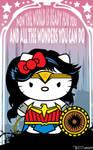 Wonder Kitty by Tom Kelly by TomKellyART