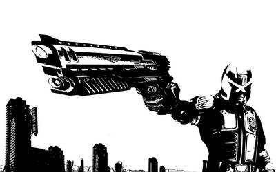 Lawgiver by Tom Kelly by TomKellyART