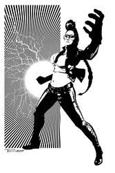 C viper Powerfist by Tom Kelly by TomKellyART
