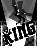 Elvis The king By Tom Kelly by TomKellyART