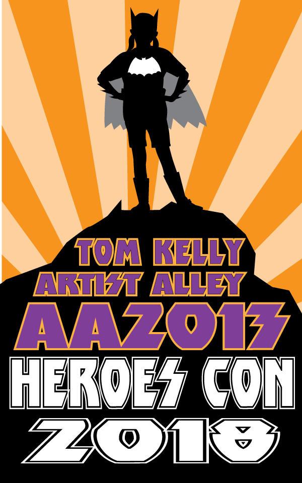 promo Batgirl heroes 2018 by Tom Kelly by TomKellyART