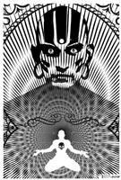 Dhalsim Trance by Tom Kelly by TomKellyART