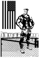 Guile Flat Top by Tom Kelly by TomKellyART