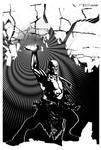 Oro Power Fist by Tom Kelly by TomKellyART
