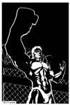Urien fist by Tom Kelly by TomKellyART