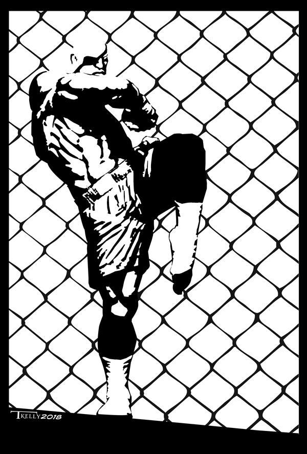 Sagat Strike by Tom Kelly by TomKellyART