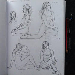 Figure Study by ClaudiaCooper
