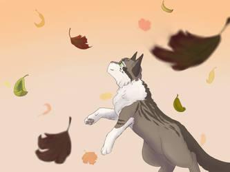 Leaf hunter by Lehfren
