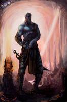 Xxandris, the shadowsinger by Art-Calavera