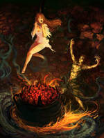Paizo / The Bloody Cauldron by Art-Calavera