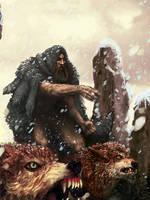 Paizo / Fenrir's Fury, the Wolf Lord by Art-Calavera