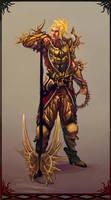 Sun Knight by Art-Calavera