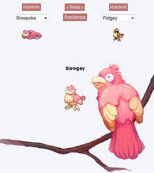 Pokemon Fusion - Slowgey by Art-Calavera