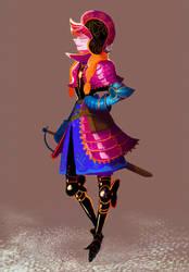 Armored Princess Anna by Art-Calavera