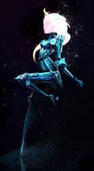 Frozen Queen by Art-Calavera