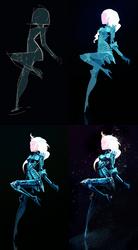 Frozen Queen process by Art-Calavera