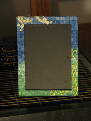 Mosaic picture frame by wasabeads