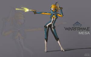 Mesa Warframe by BlaMo