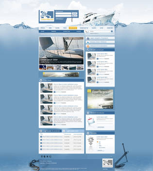 Yachting.hu portal 1st version by arkantal