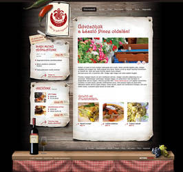 restaurant site by arkantal