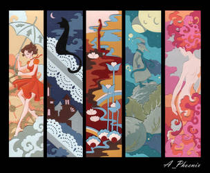 bookmarks by PhoenixAnna