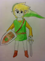 Water-colored Link by Link0X