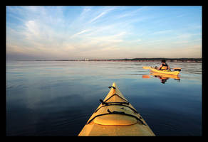 Kayak by P-Photographie