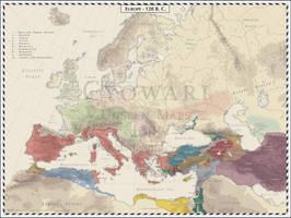 Europe - 120 BC by Cyowari
